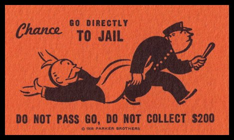 Monopoly - Go to Jail