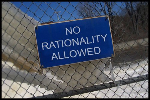Rationality - Not Allowed